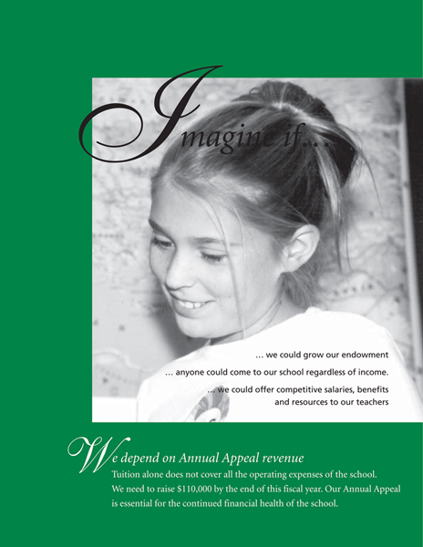 Steiner Annual Appeal